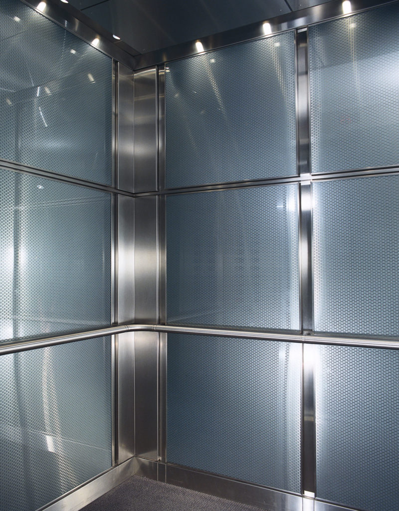 Glass & Stainless Steel Detail