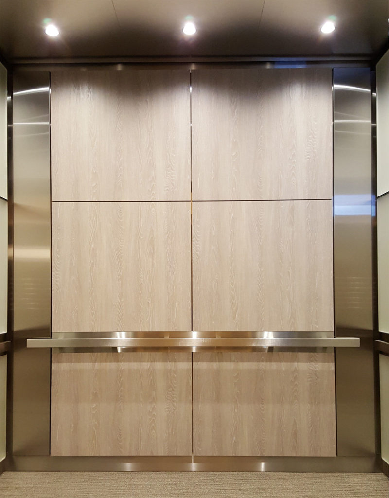 Plastic Laminate with stainless steel